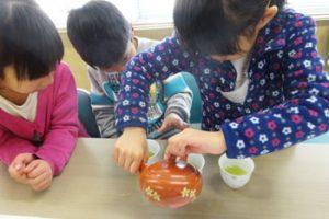 大井川南小わくわくお茶の部屋