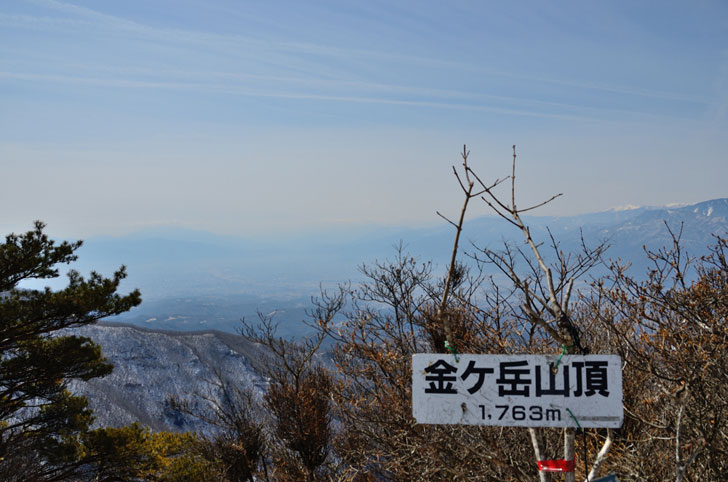 金ヶ岳山頂