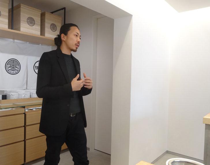 東京茶寮、谷本さん