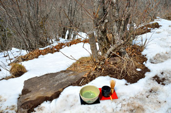 茅ヶ岳、抹茶