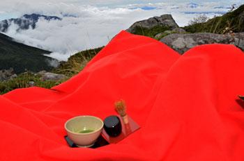 蓼科山、抹茶