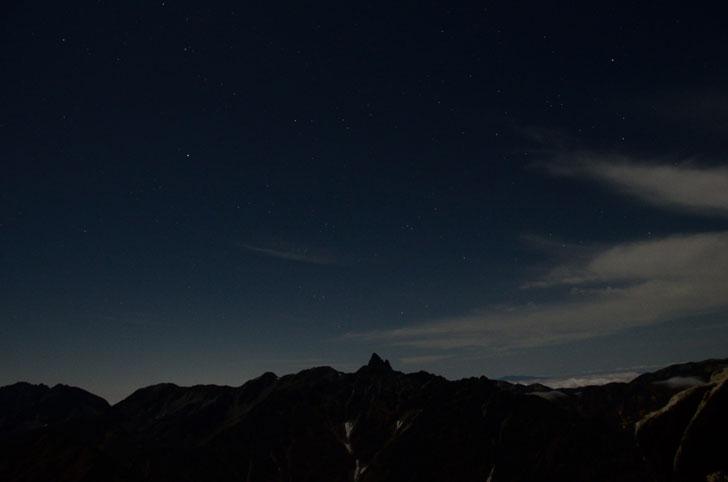 大天井岳、槍ヶ岳