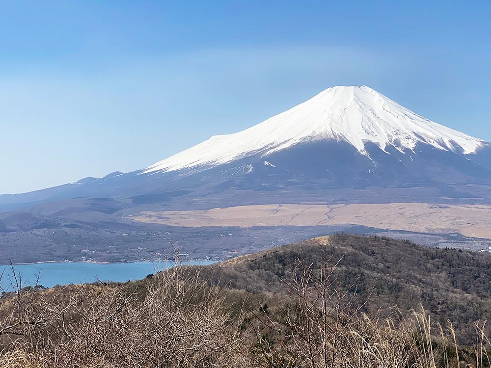 石割山、富士山